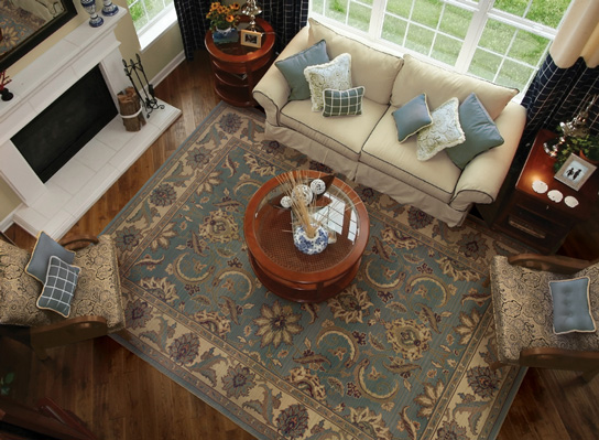 A Beautiful Area Rug Can Define E Ad Create Warmth In Room As Well Visually Expand It